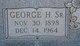 George Henry James Sr.