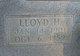 Lloyd Homer Sandefer