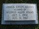 James Ervin Adams