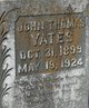 John Thomas Yates