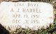 "Profile photo:  A J ""Jay Boy"" Harrel"