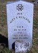 "PVT Alexander E. ""Alex"" Rutland"