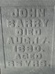Profile photo:  John Barry