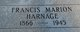 Francis Marion Harnage