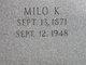 Milo Killum Davis