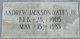Andrew Jackson Yates, Jr