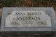 Anna Bertha Anderson