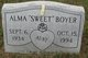 "Profile photo:  Alma ""Sweet"" Boyer"