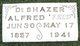 """Profile photo:  Alfred """"Fred"""" DeShazer"""
