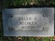 Helen B <I>Caddell</I> Mechler