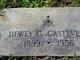 Profile photo:  Dewey Clinton Castevens