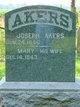 Mary <I>Thompson</I> Akers