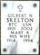 Profile photo:  Gilbert N Skelton