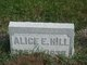 Profile photo:  Alice E Hill