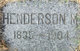 Profile photo:  Henderson Marsh Angier