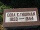 "Coralind Estelle ""Cora"" <I>Serles</I> Thurman"