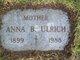 Anna B. <I>Rathnaw</I> Ulrich