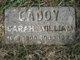 Sarah Jane <I>Lanning</I> Caddy