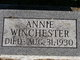Profile photo:  Annie Winchester