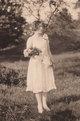 "Profile photo:  Anna ""Lillian"" Mickel Steele"