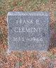 Frank Edward Clement