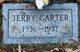 Profile photo:  Jerry Eugene Carter