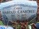 "Harold ""Chris"" Crabtree"
