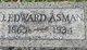 """John Edward """"Edward"""" Asman"""