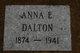 "Anna Elizabeth ""Toots"" <I>Rowe</I> Dalton"