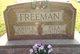 """Jane Elmina """"Ella"""" <I>Hoyle</I> Freeman"""