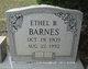 Profile photo:  Ethel B. Barnes