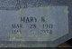 Mary B. <I>Shields</I> Ervin