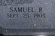 Samuel R. Ervin
