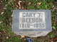 Profile photo:  Cary T Beeson