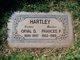 Mary Ann Frances <I>Poston</I> Hartley