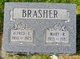 Mary <I>Russell</I> Brasher