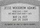 Jesse Woodrow Adams