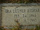 Ira Luther Richards