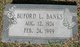 Buford Lafayette Banks