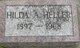 Hilda A. Heller