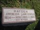 Jane <I>Staples</I> Hayden