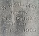 W W Williams