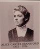 Profile photo:  Alice <I>Carter</I> Bransford