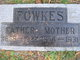 """Profile photo:  """"MOTHER"""" Fowkes"""