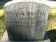 Frank Brown Allen