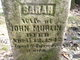 Sarah J. <I>Dotter</I> Murlin