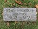 Mary M. <I>Phillips</I> Bissell