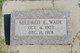 Mildred E <I>Amonett</I> Wade