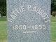 "Profile photo:  Harriet Philena ""Hattie"" Abbott"