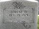 Profile photo:  Lorene <I>Dotson</I> Daniels
